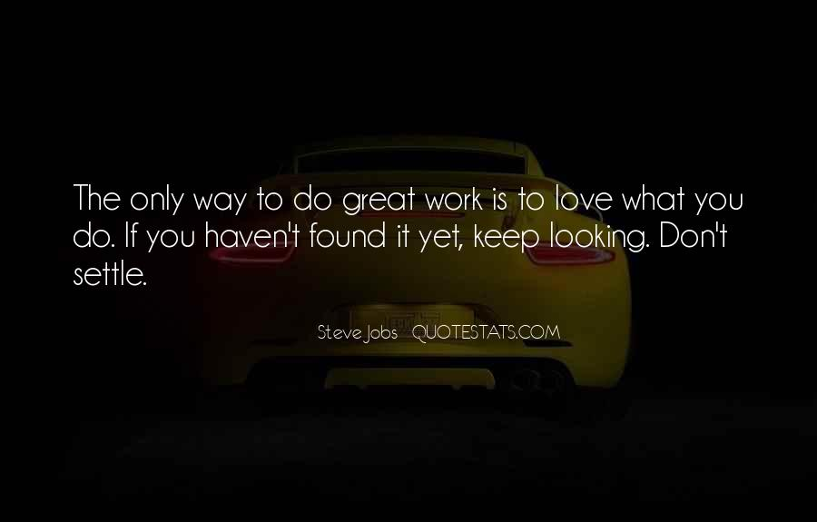 Quotes About Work Steve Jobs #213348