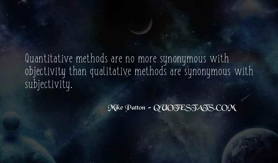 Quotes About Subjectivity And Objectivity #934186