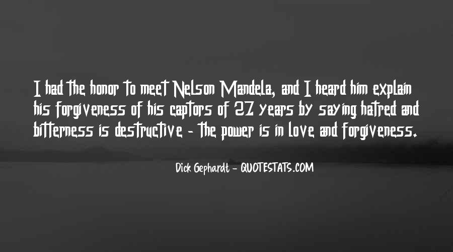 Quotes About Forgiveness Nelson Mandela #1647269