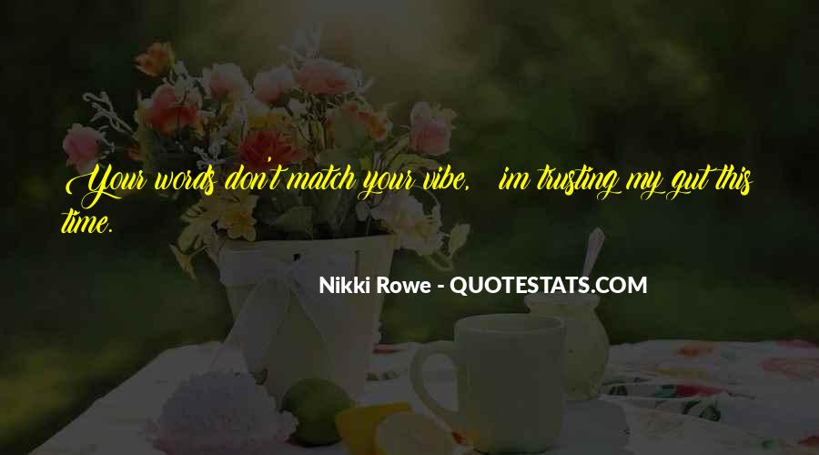 Quotes About Trusting #102754