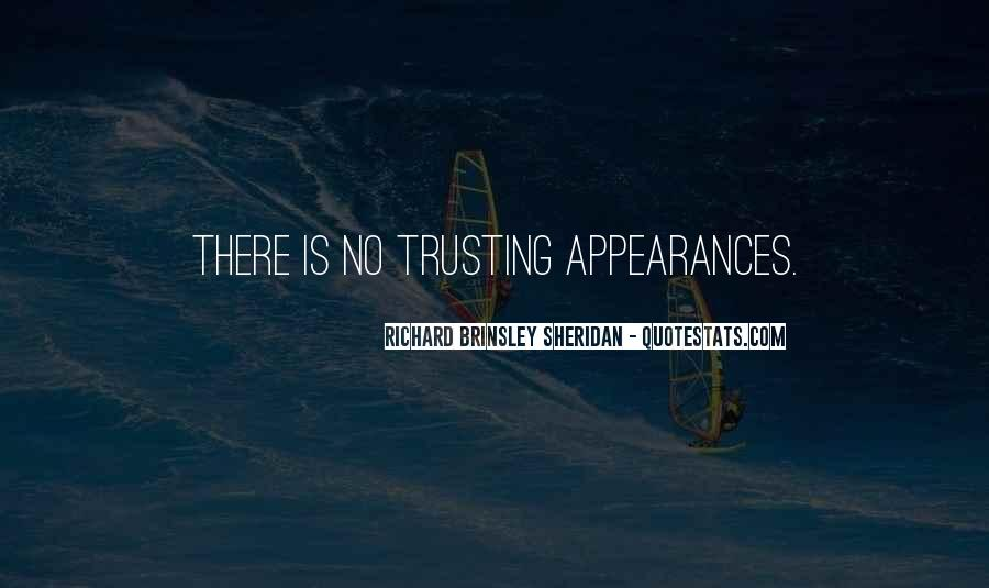 Quotes About Trusting #128651