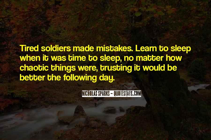 Quotes About Trusting #132114