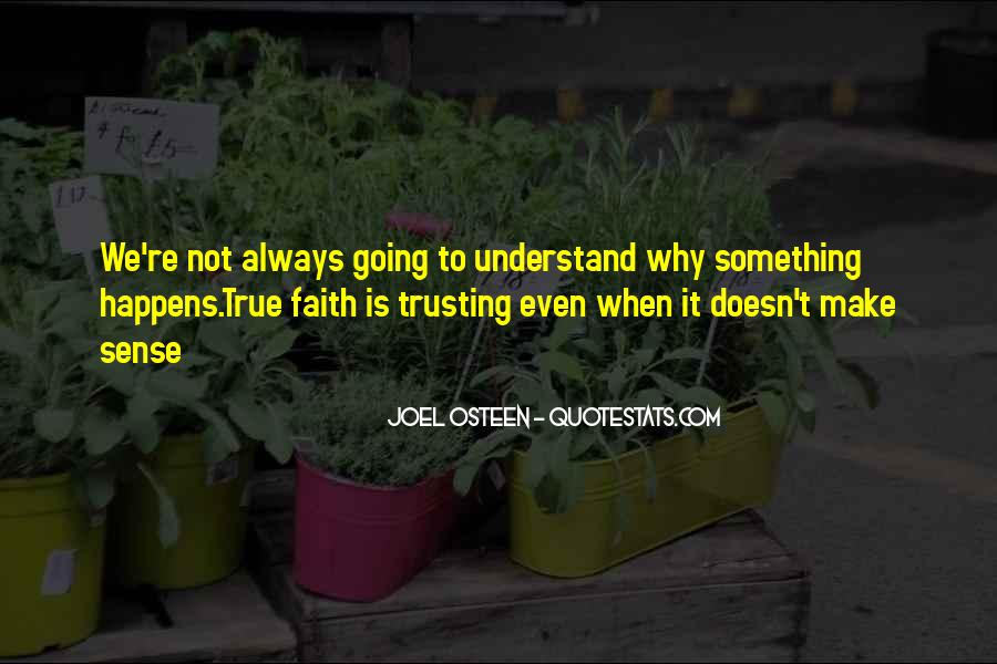 Quotes About Trusting #140016