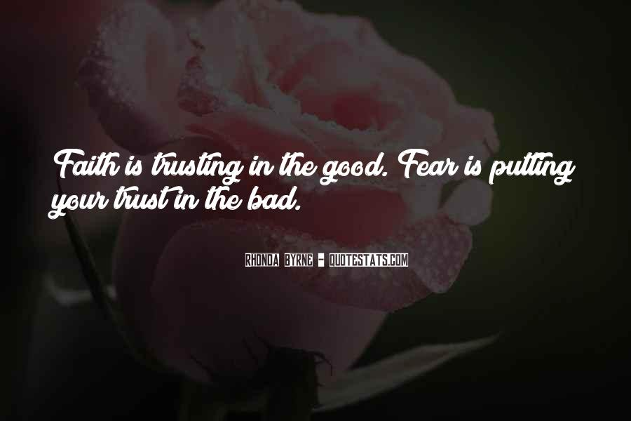 Quotes About Trusting #191451