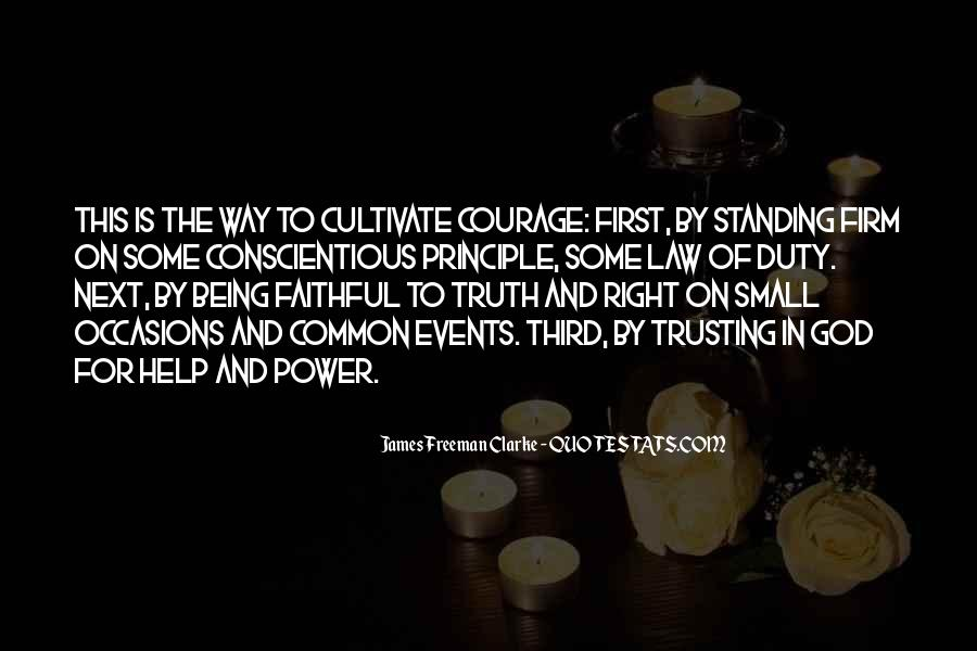 Quotes About Trusting #198457