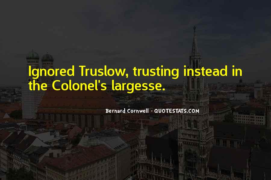 Quotes About Trusting #239798