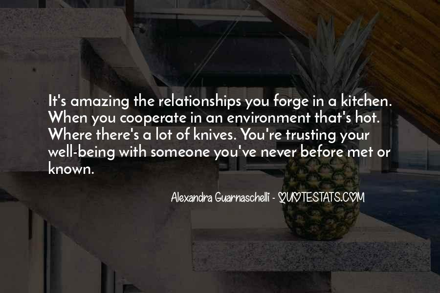Quotes About Trusting #41411