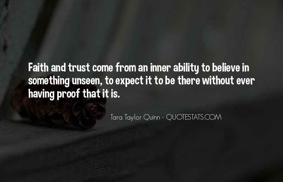 Quotes About Trusting #64937