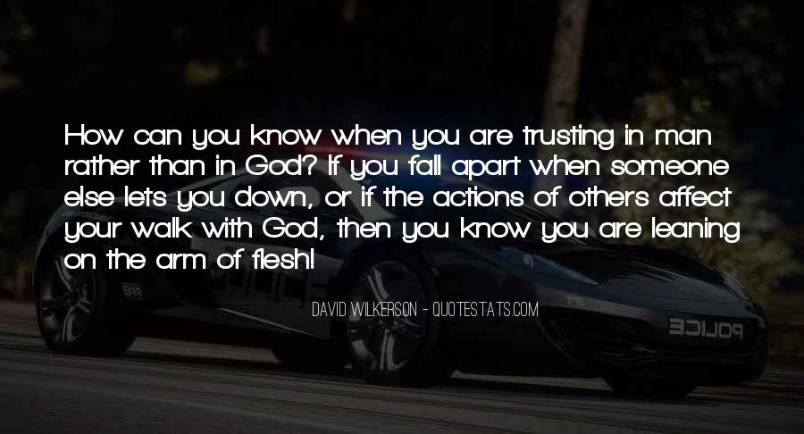 Quotes About Trusting #92373