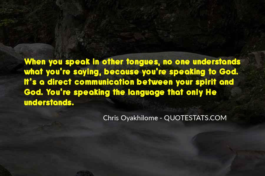 Quotes About No Communication #1059929