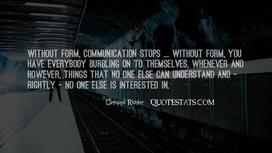 Quotes About No Communication #12392