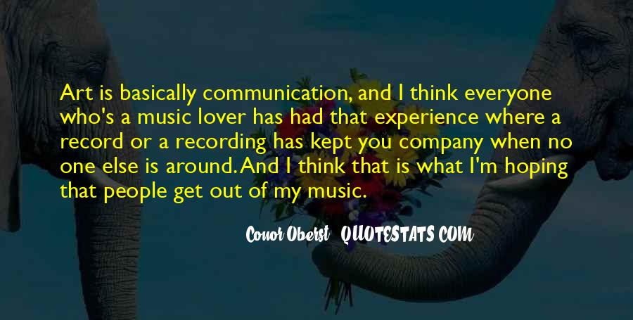 Quotes About No Communication #241241
