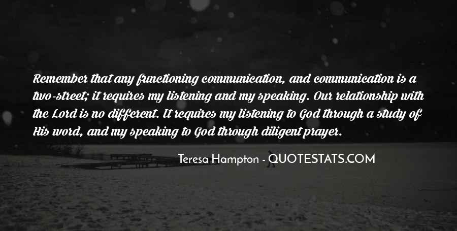 Quotes About No Communication #398142
