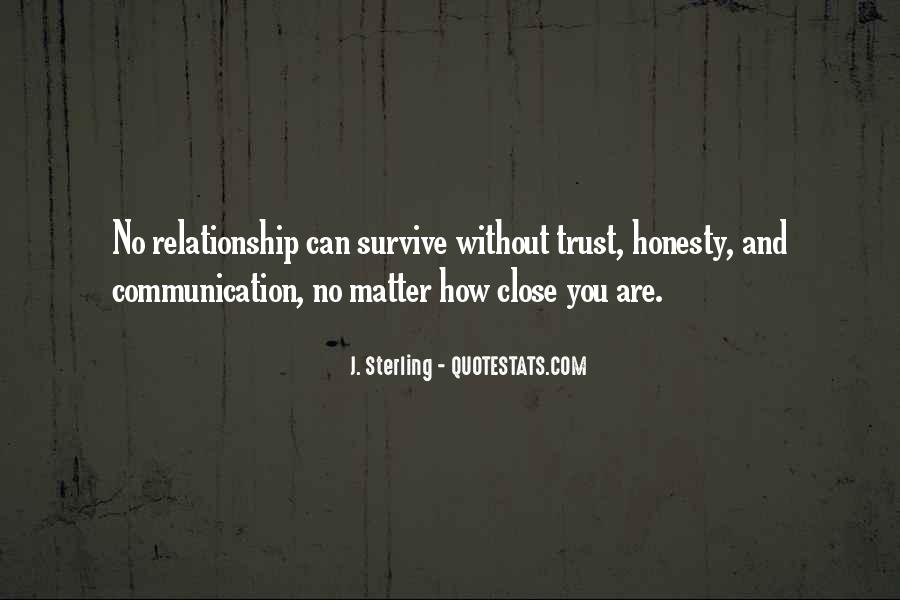 Quotes About No Communication #429784