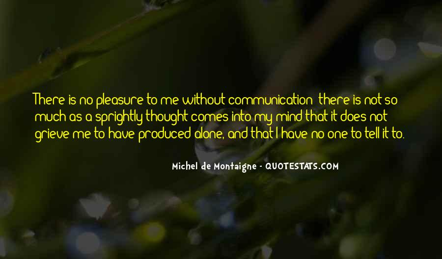 Quotes About No Communication #456785