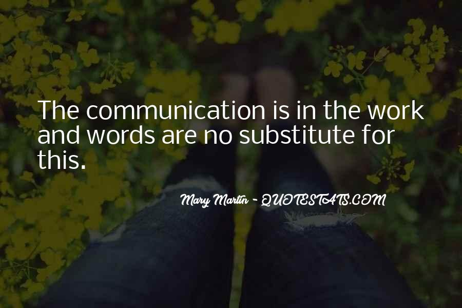 Quotes About No Communication #474036