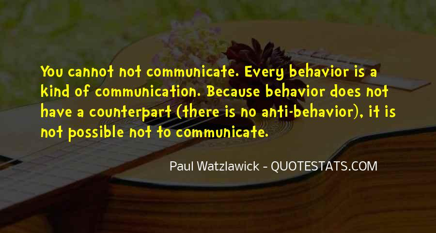 Quotes About No Communication #684547