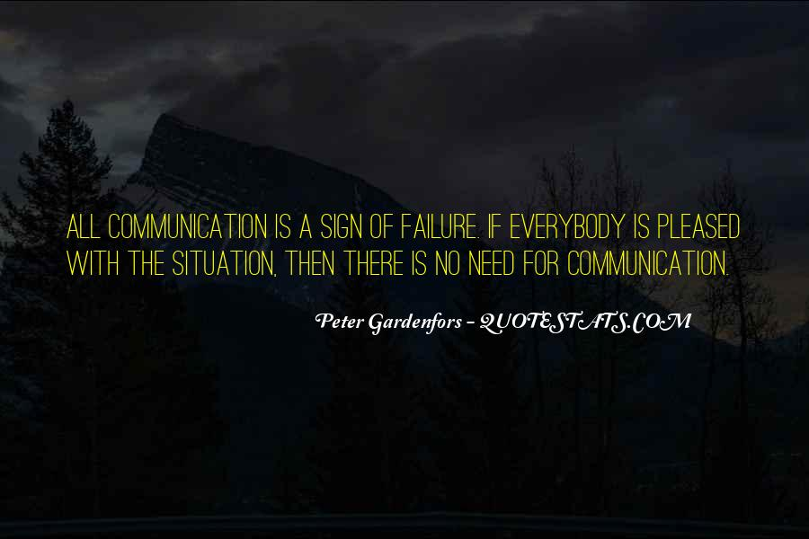 Quotes About No Communication #753137