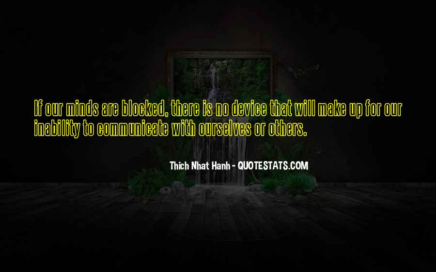 Quotes About No Communication #800475