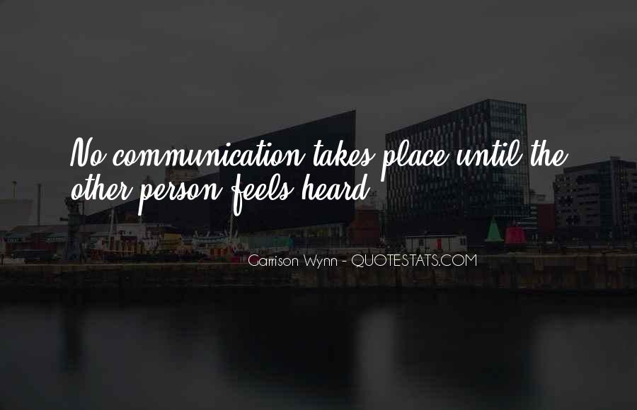 Quotes About No Communication #841546