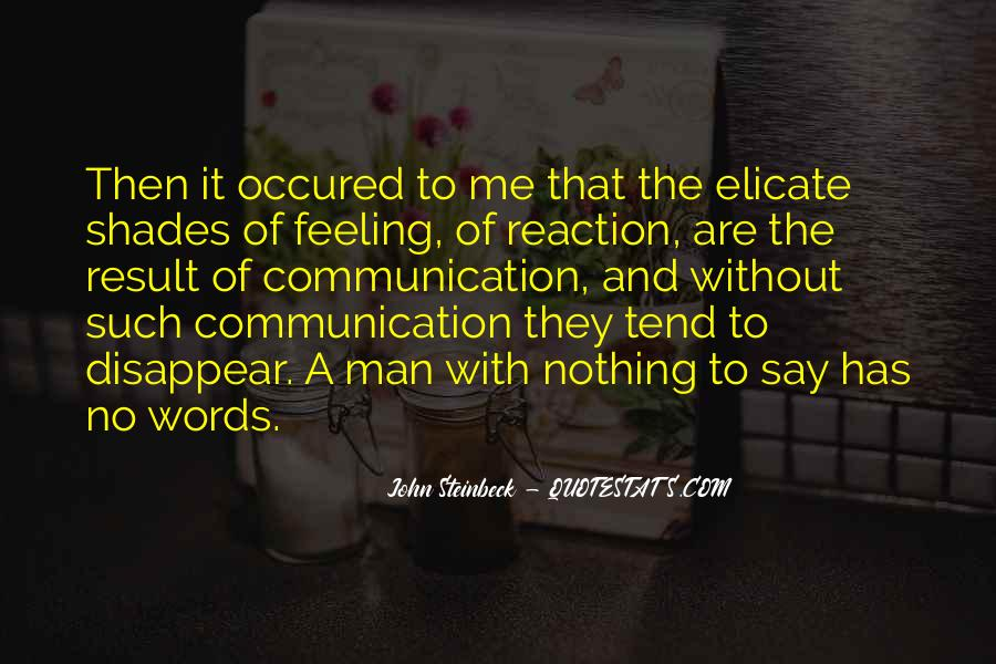 Quotes About No Communication #945907