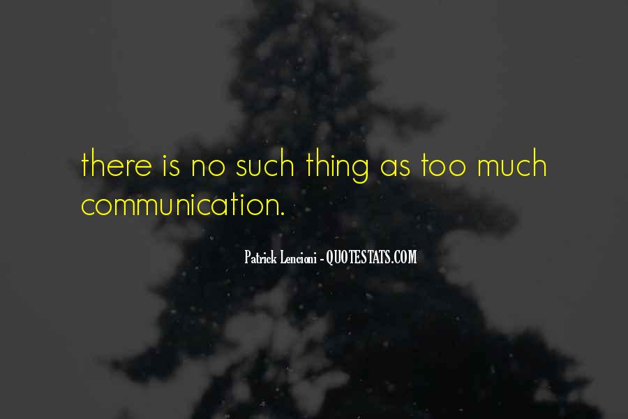 Quotes About No Communication #958105