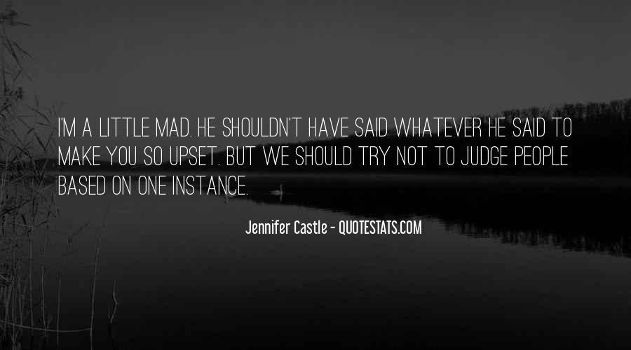Quotes About How You Shouldn't Judge #1271209