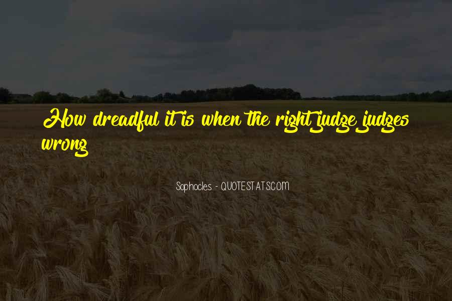Quotes About How You Shouldn't Judge #1651944