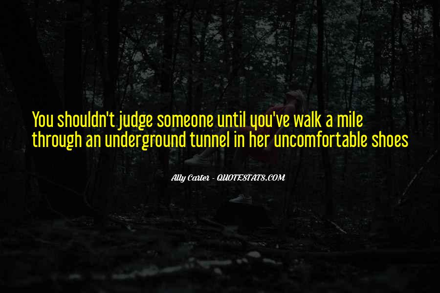 Quotes About How You Shouldn't Judge #1866180