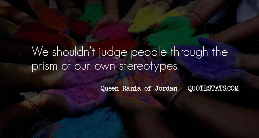 Quotes About How You Shouldn't Judge #222247