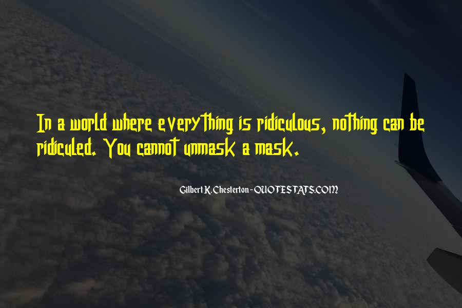 Quotes About Having A Mask #65611