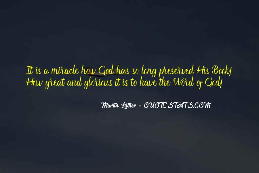 Quotes About How Great God Is #1073269