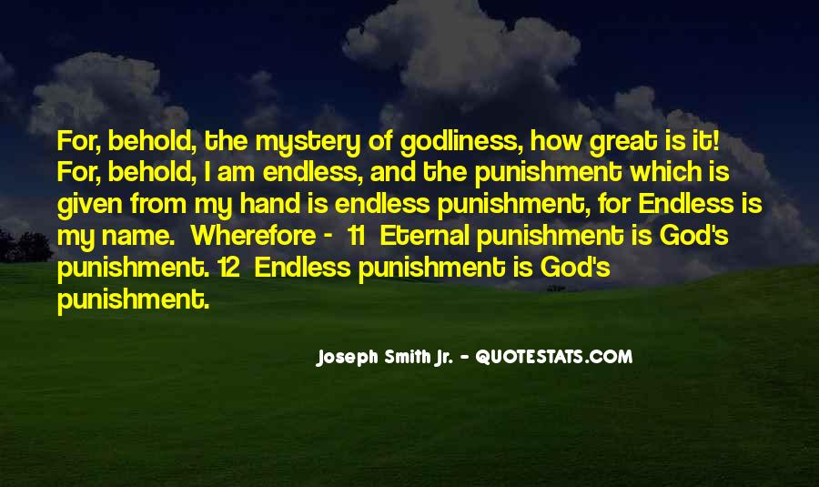 Quotes About How Great God Is #1751747