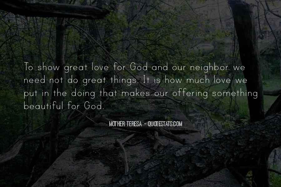 Quotes About How Great God Is #646124