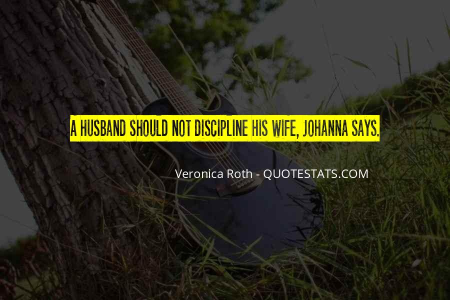 Quotes About Domestic Discipline #1472452
