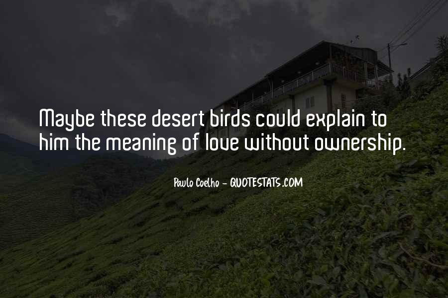 Quotes About Birds And Love #1047566