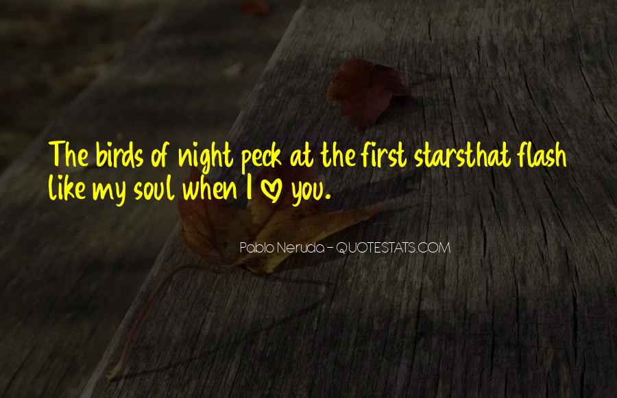 Quotes About Birds And Love #1264397