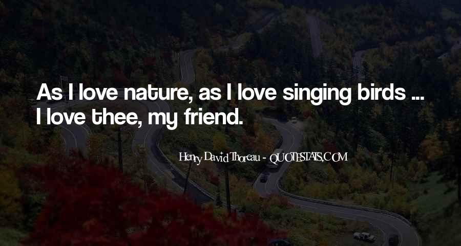 Quotes About Birds And Love #1418858