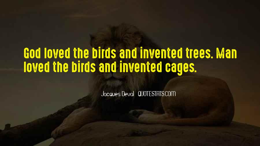 Quotes About Birds And Love #14727