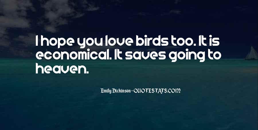 Quotes About Birds And Love #251108