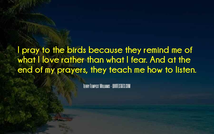 Quotes About Birds And Love #355805