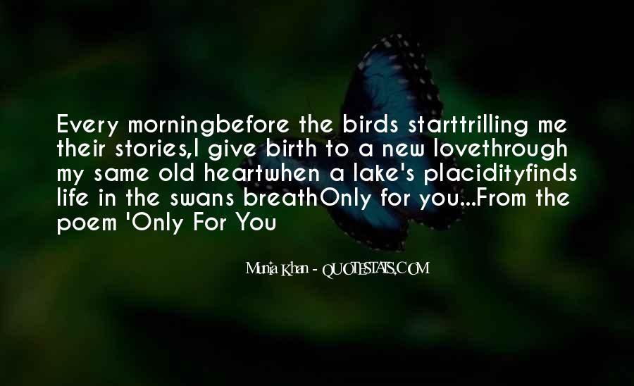 Quotes About Birds And Love #356292