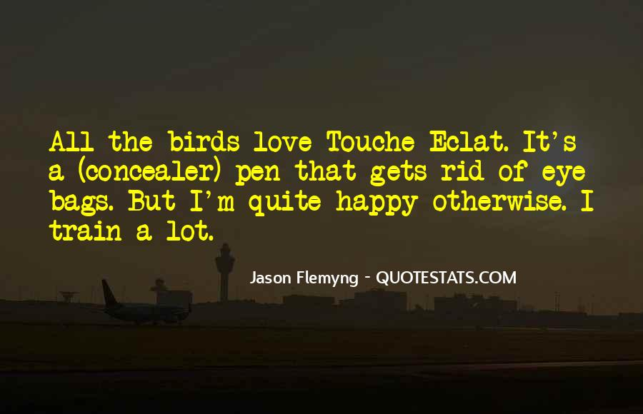 Quotes About Birds And Love #443375