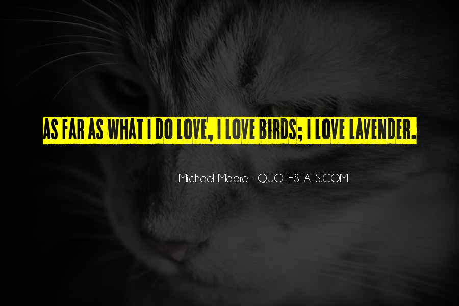 Quotes About Birds And Love #48083