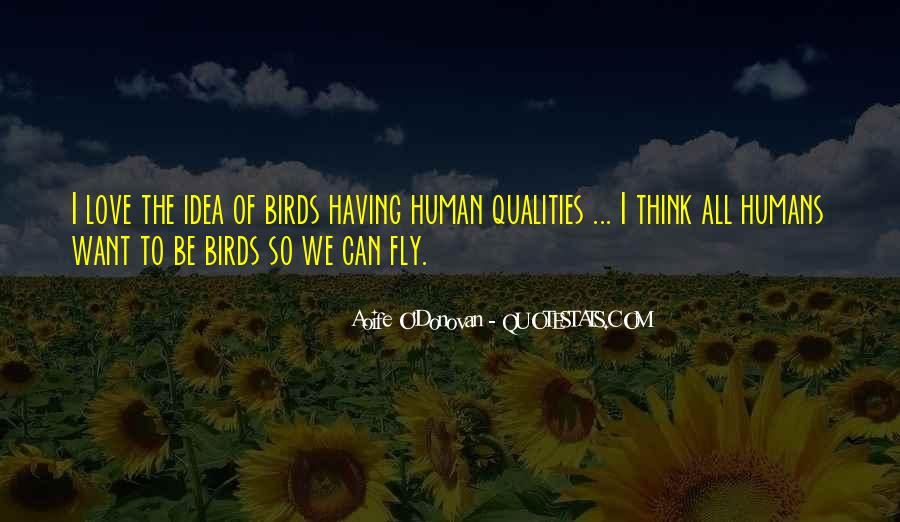 Quotes About Birds And Love #631697
