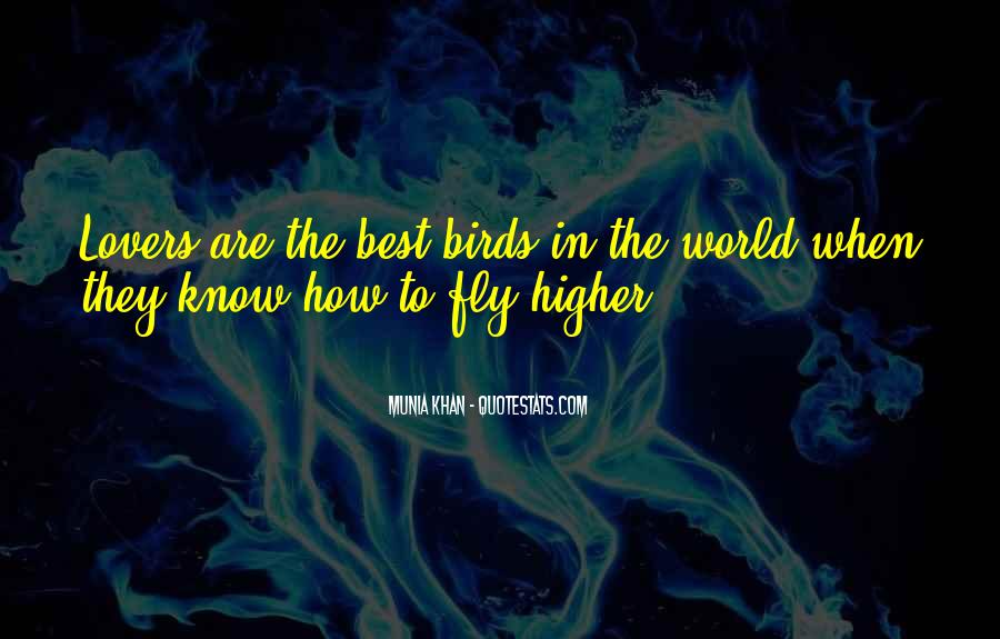 Quotes About Birds And Love #663185