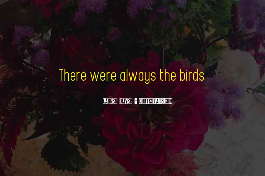 Quotes About Birds And Love #877969