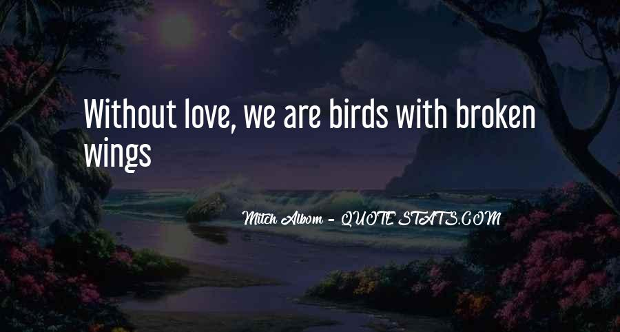 Quotes About Birds And Love #922186