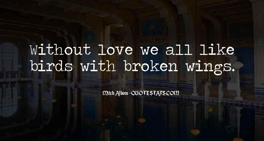 Quotes About Birds And Love #923526