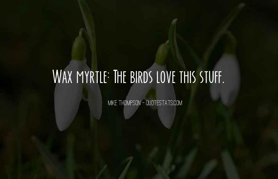 Quotes About Birds And Love #933078